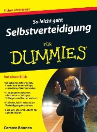 Cover So leicht geht Selbstverteidigung für Dummies