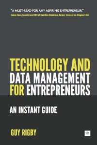 Cover Technology and Data Management for Entrepreneurs