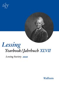 Cover Lessing Yearbook / Jahrbuch XLVII, 2020