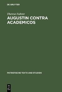 Cover Augustin contra Academicos