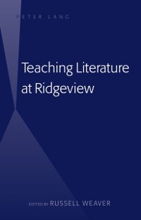 Cover Teaching Literature at Ridgeview