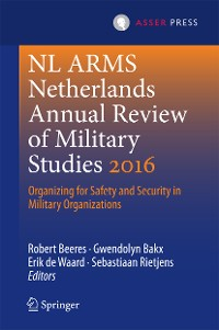 Cover NL ARMS Netherlands Annual Review of Military Studies 2016