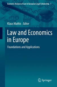 Cover Law and Economics in Europe