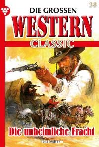 Cover Die großen Western Classic 38 – Western
