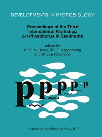 Cover Proceedings of the Third International Workshop on Phosphorus in Sediments