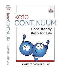 Cover ketoCONTINUUM  Consistently Keto For Life