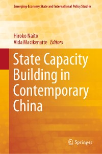 Cover State Capacity Building in Contemporary China