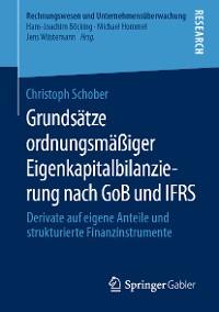 Cover Grundsätze ordnungsmäßiger Eigenkapitalbilanzierung nach GoB und IFRS