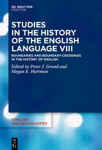 Cover Studies in the History of the English Language VIII