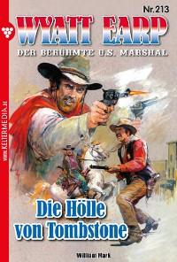 Cover Wyatt Earp 213 – Western