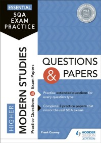 Cover Essential SQA Exam Practice: Higher Modern Studies Questions and Papers