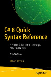 Cover C# 8 Quick Syntax Reference