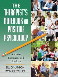 Cover Therapist's Notebook on Positive Psychology