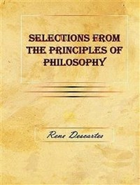 Cover Selections from the Principles of Philosophy