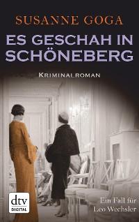 Cover Es geschah in Schöneberg
