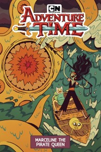 Cover Adventure Time Original Graphic Novel: Marceline the Pirate Queen