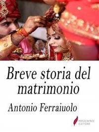 Cover Breve storia del matrimonio