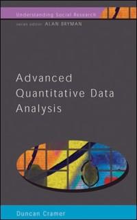 Cover EBOOK: ADVANCED QUANTITATIVE DATA ANALYSIS