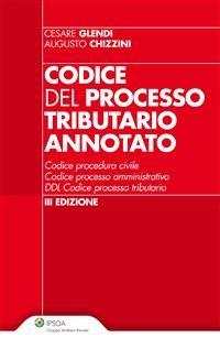 Cover Codice del processo tributario annotato
