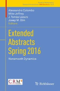 Cover Extended Abstracts Spring 2016