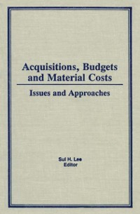 Cover Acquisitions, Budgets, and Material Costs