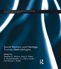 Cover Social Memory and Heritage Tourism Methodologies