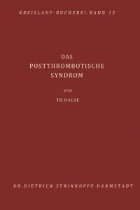 Cover Das Postthrombotische Syndrom