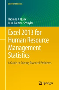 Cover Excel 2013 for Human Resource Management Statistics