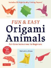 Cover Fun & Easy Origami Animals Ebook