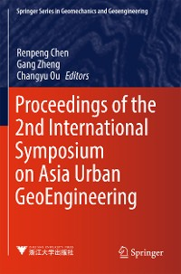 Cover Proceedings of the 2nd International Symposium on Asia Urban GeoEngineering