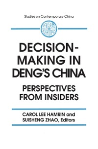 Cover Decision-making in Deng's China: Perspectives from Insiders