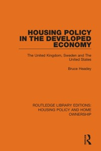 Cover Housing Policy in the Developed Economy