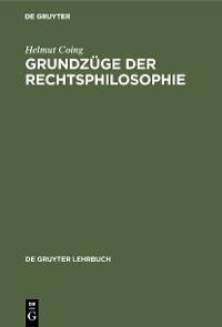 Cover Grundzüge der Rechtsphilosophie