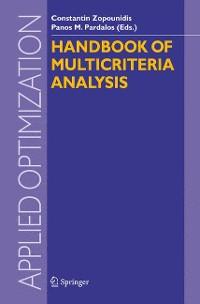 Cover Handbook of Multicriteria Analysis