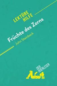 Cover Früchte des Zorns von John Steinbeck (Lektürehilfe)