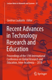 Cover Recent Advances in Technology Research and Education