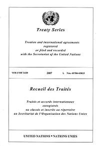 Cover Treaty Series 2429/Recueil des Traités 2429