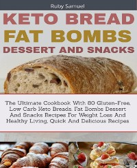 Cover Keto Bread Fat Bombs and Snacks