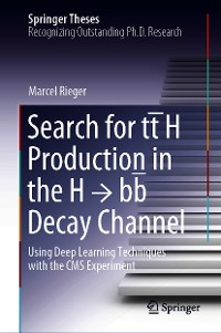 Cover Search for tt̄H Production in the H → bb̅ Decay Channel