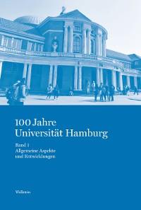 Cover 100 Jahre Universität Hamburg