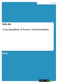 Cover Conceptualism of Science and Journalism