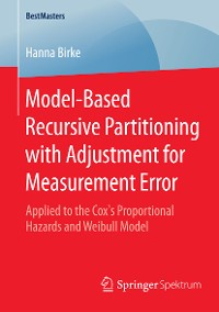 Cover Model-Based Recursive Partitioning with Adjustment for Measurement Error