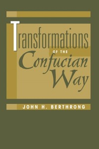 Cover Transformations Of The Confucian Way