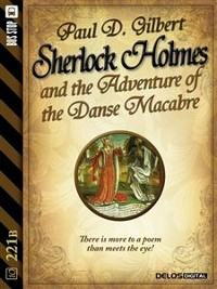 Cover Sherlock Holmes and the Adventure of the Danse Macabre