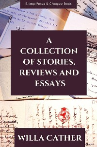 Cover A Collection of Stories, Reviews and Essays