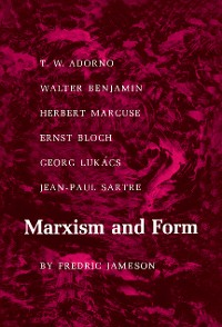 Cover Marxism and Form