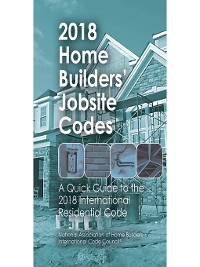 Cover 2018 Home Builders' Jobsite Codes