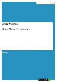 Cover Blues Music. Etta James