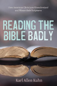 Cover Reading the Bible Badly