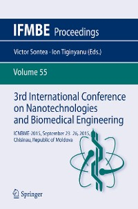 Cover 3rd International Conference on Nanotechnologies and Biomedical Engineering